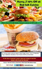 10% off on all meal for Students of DLF Public School, Ghaziabad