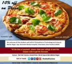 10% Off All Dishes for students and staff of ITS College – Red Salt Cuisine