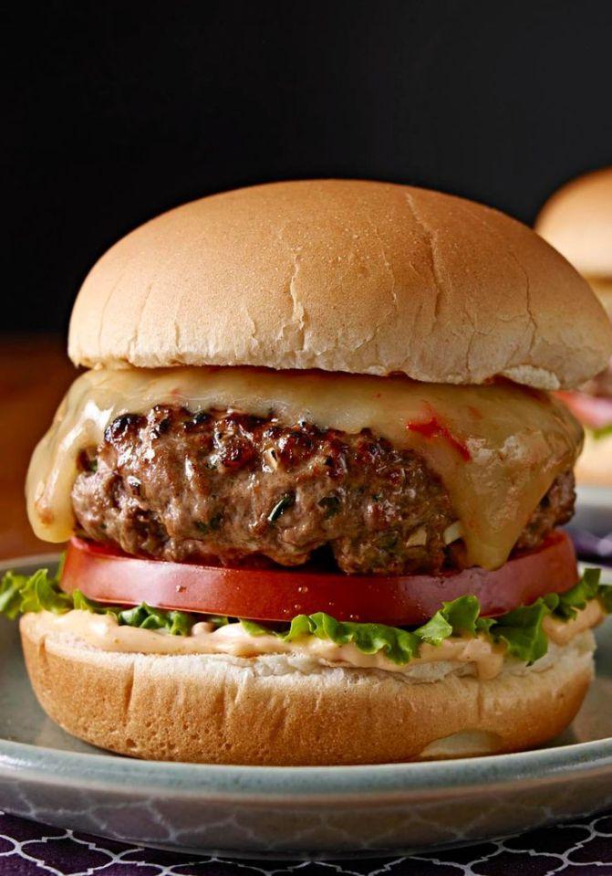 cheesy-licious burger 2