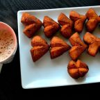 Traditional Fried Vettu Cake Served in Kerala..!!