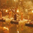 The beautiful view of river Ganga in Varanasi..!!