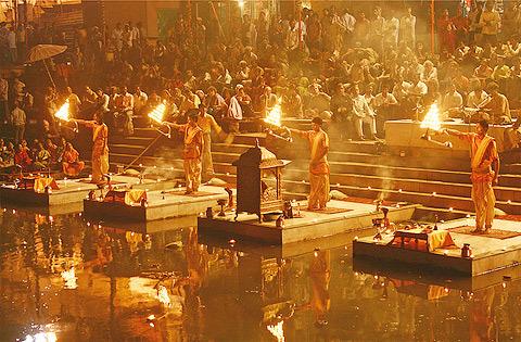 Ganga in Varanasi 2