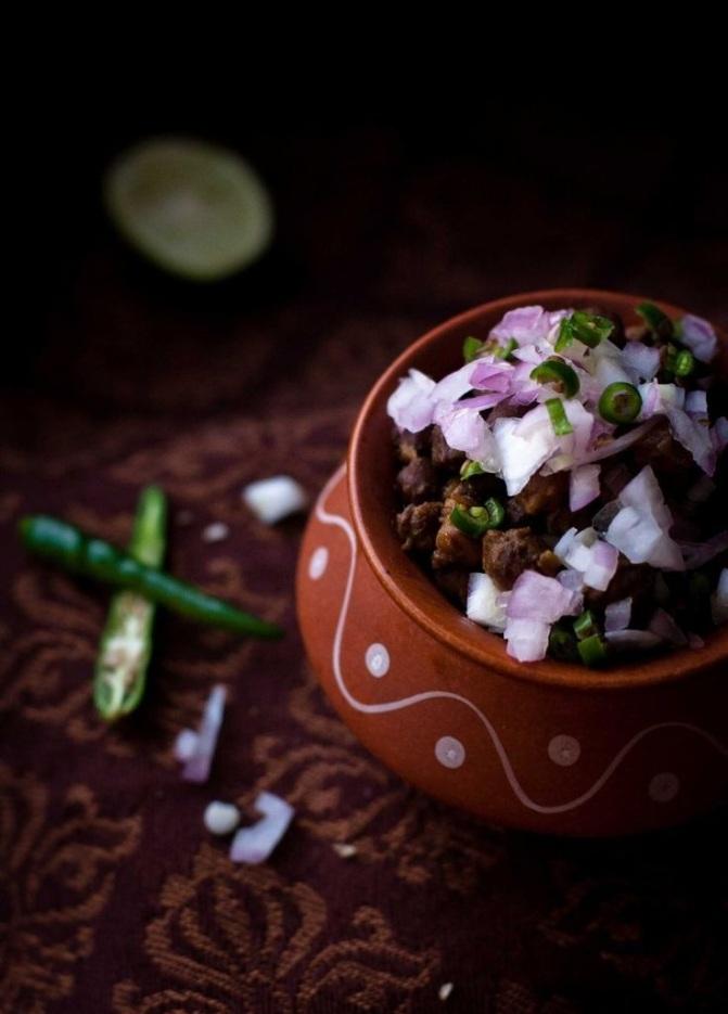Ghugni (Bihari Snack)