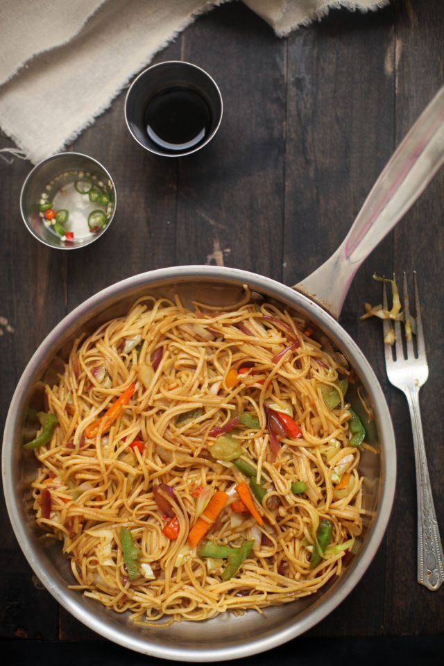 Hakka Noodles 2