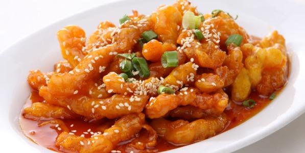 Honey Chilli Potato 1