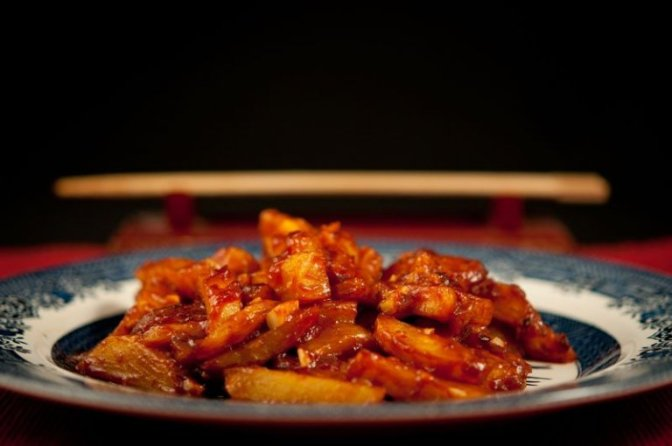 Honey Chilli Potato 2