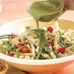 Pesto Pasta is a tastier and healthier meal for lunch..!!