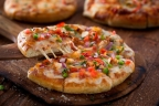 "Enjoy this Weekend with your friend with a cheesy 6"" Pizza..!!"