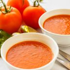 Homemade Warm Tomato Soup for Winters..!!