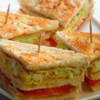 Veg Club Sandwich is the perfect way to give your kid..!!