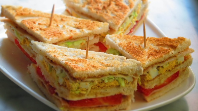 Veg Club Sandwich 2