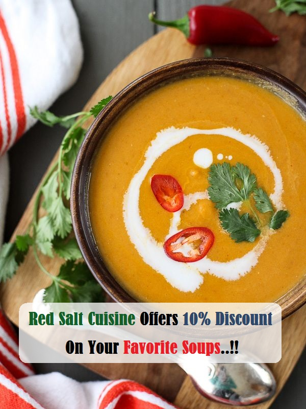 10% Off On Soups
