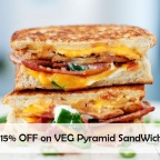 Wow Wednesday 15% Discount on Sandwiches at Red Salt Cuisine