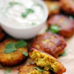 Crispy and Chunky Cauliflower Fritters..!!