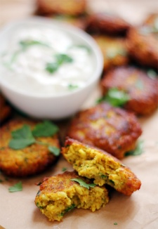 Cauliflower Fritters 1