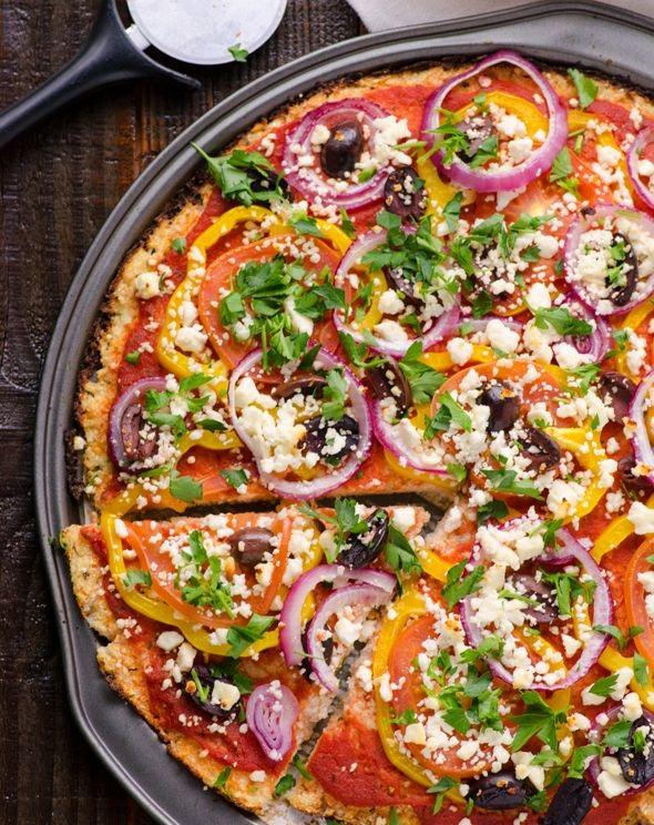 Cheesy Vegi Delight Pizza 1