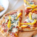 Crunchy and Cheesy Vegi Delight Pizza..!!