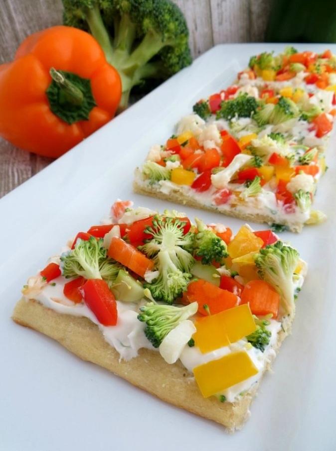 Cheesy Vegi Delight Pizza