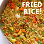 Rich Vegetable Schezwan Fried Rice..!!