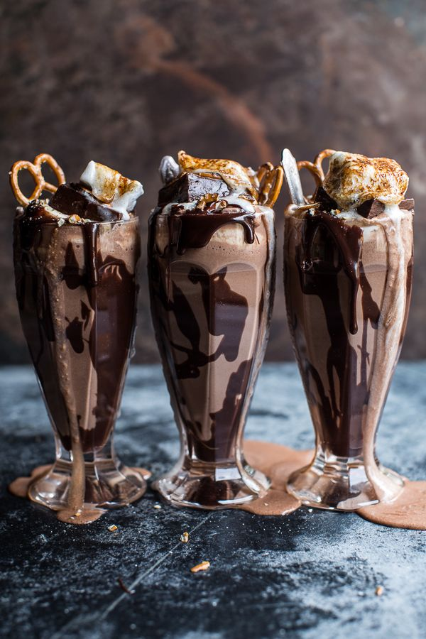 Nutella Fudge Milkshake