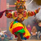 Colorful Paro Tsechu Festival in Bhutan..!!