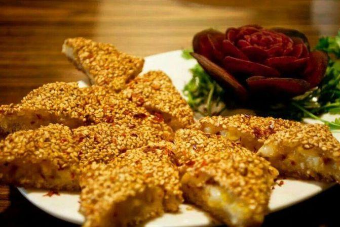 Seasame Cheese Toast 1