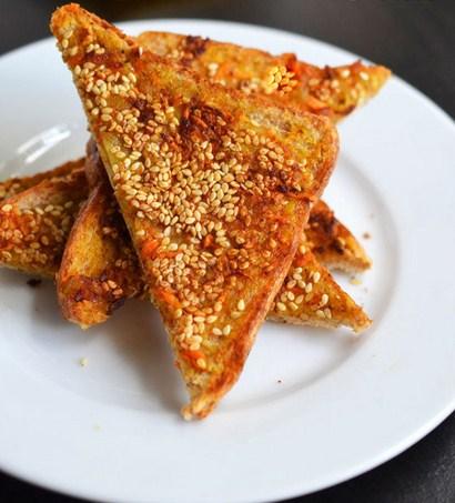Seasame Cheese Toast 2