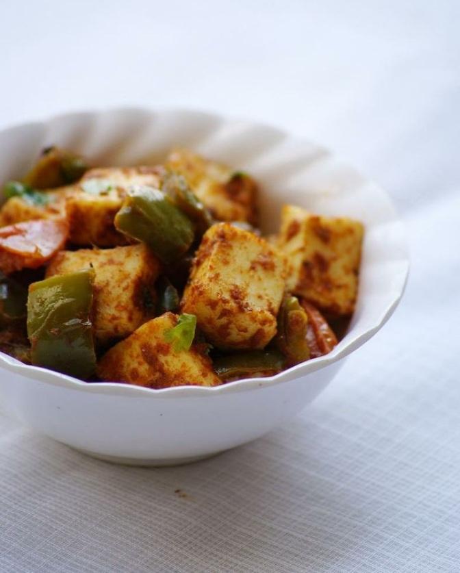 Spicy Paneer
