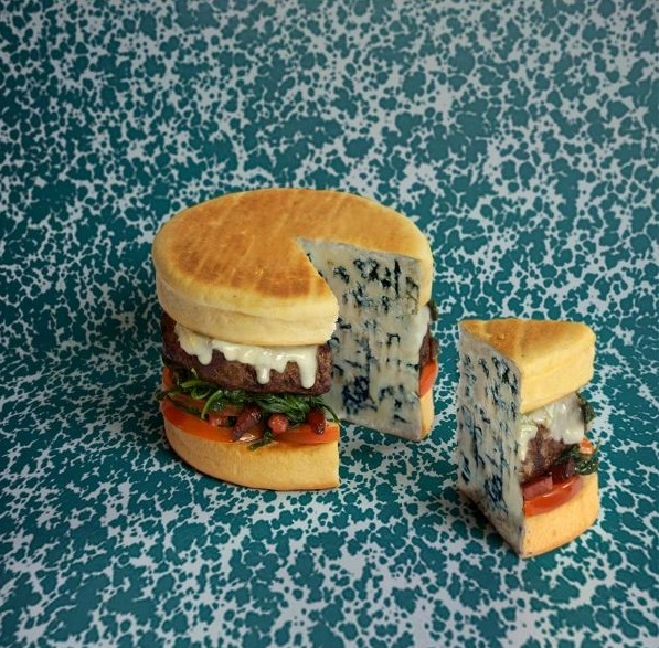veg mayo Burger 6