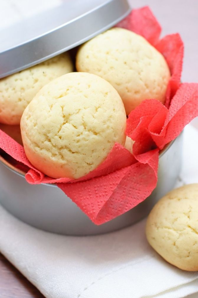 Baked Shortbread Cookies 3