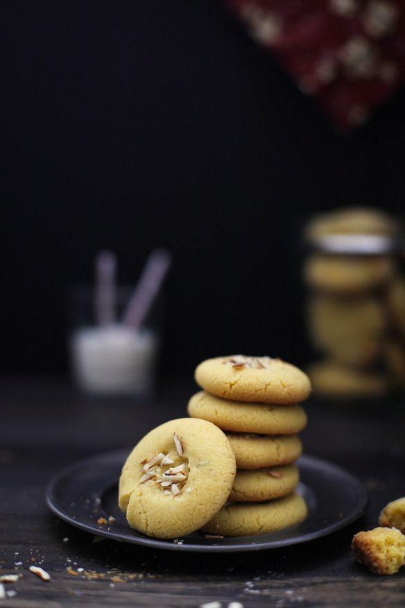 Baked Shortbread Cookies