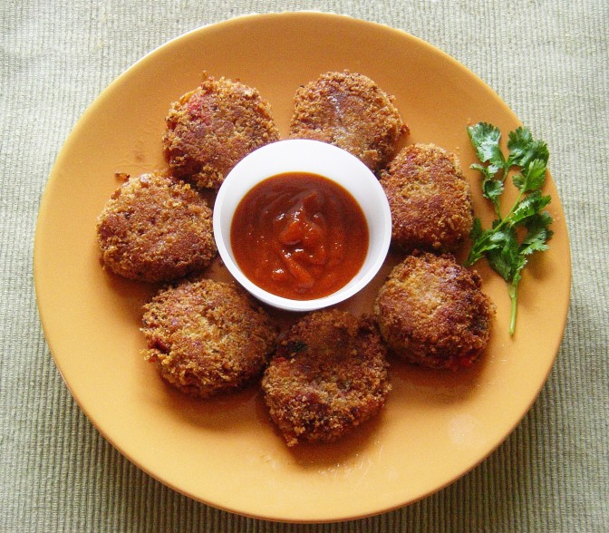 Bread Cutlet Recipe 1