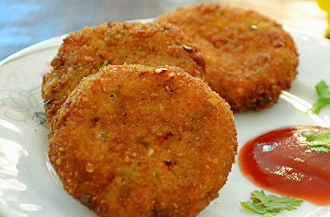Bread Cutlet Recipe 3
