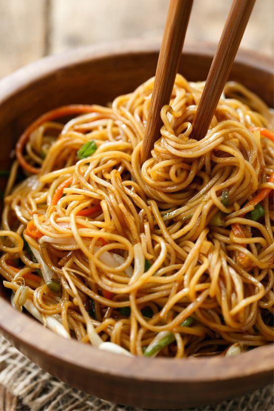 Singapore Noodles 1