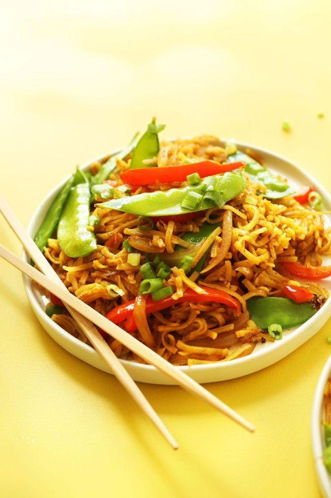 Singapore Noodles 6