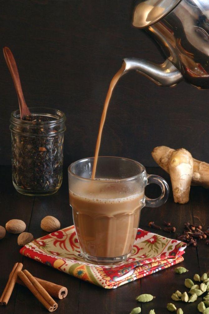 Masala tea or masala chai 2