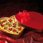 Serve Cupid Pizza to Your Beloved this Valentine's Day