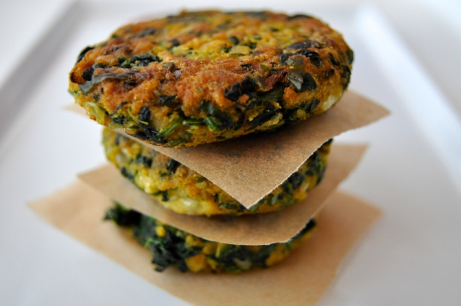 Spinach Fritters 2