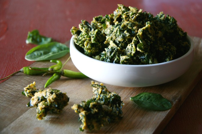 Spinach Fritters 4
