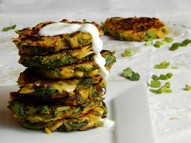 Spinach Fritters 5